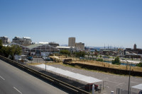 V&A Waterfront area from the bridge [0712018030]