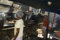 Braaing at Mzoli's Meat in Gugulethu [0803082835]