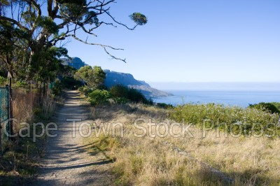 table mountain,hiking,pipe track