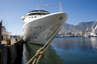 Ship moored at Table Bay Harbour [1001235704]