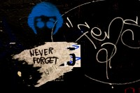 Never Forget in graffiti [1003268875]