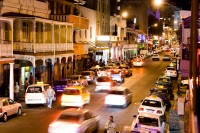 Long Street in Cape Town at night [1003268893]