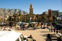 Grand Parade and Table Mountain [1004170548]