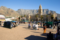 Grand Parade and Table Mountain [1004170562]