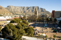 Grand Parade and Table Mountain [1004170600]