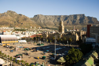 Grand Parade and Table Mountain [1004170613]