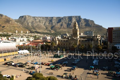 table mountain,city hall,grand parade