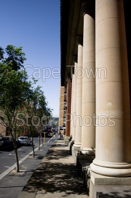 buildings,pillars,roads
