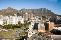 Table Mountain and the city centre [1009114371]