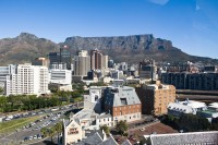 Table Mountain and the city centre [1009114394]