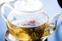 Flowering tea and cake [1101040153]