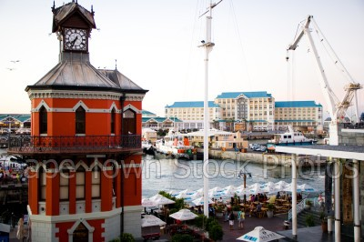 v&a waterfront,clock tower,harbours