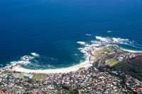 Camps Bay from top of Table Mountain [1103262972]
