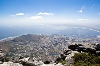 Overlooking Cape Town from Table Mountain [1103263004]