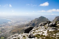 Overlooking Cape Town from Table Mountain [1103263007]