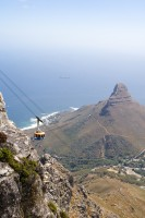Cable car ascending the cableway [1103263059]