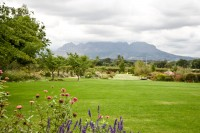 Green garden and Helderberg mountains [1103313573]