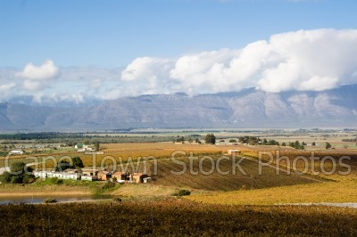 mountain,landscape,countryside,farmlands,fields