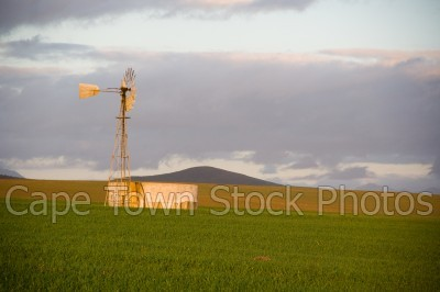 hills,countryside,windmill