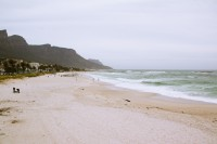 Deserted Camps Bay beach [1108290157]