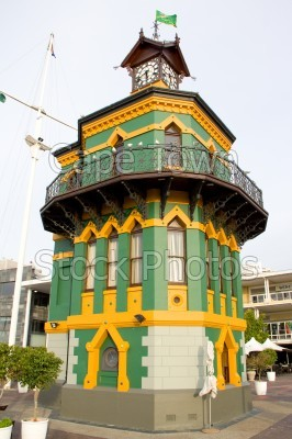 v&a waterfront,clock tower
