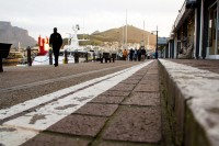 Sidewalk at the V&A Waterfront [1108290285]