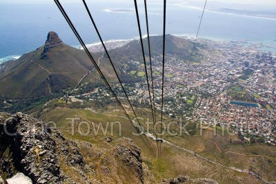 signal hill,lions head,cableway