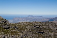 Looking South from on top of Table Mountain [1108290758]