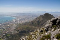 Devil's Peak from Table Mountain [1108290820]