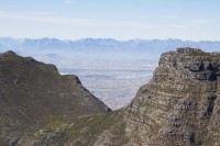 Devil's peak and the Boland Mountain range [1108290830]