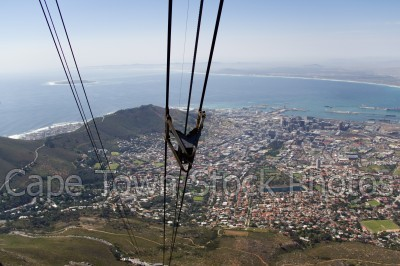 city,signal hill,cableway,table bay