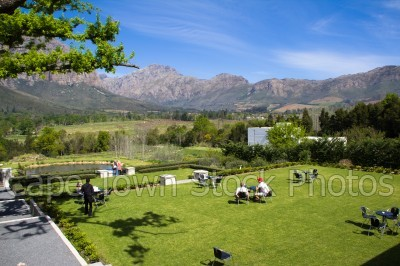 mountain,people,gardens,franschhoek