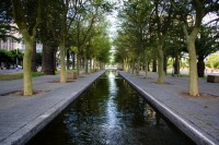 Water canal in Adderley Street Cape Town [1111191523]