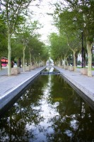 Water canal in Adderley Street Cape Town [1111191533]