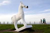Horse art at Sea Point promenade [1111191578]