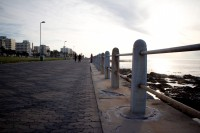 Railing of the Sea Point promenade [1111191599]
