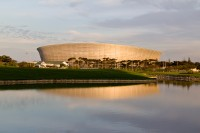 Cape Town Stadium at dusk [1111191725]