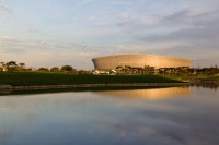 Cape Town Stadium at dusk [1111191729]