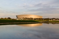 Cape Town Stadium at dusk [1111191730]