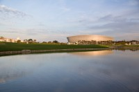 Cape Town Stadium at dusk [1111191734]