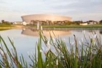 Cape Town Stadium at dusk [1111191746]