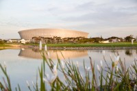 Cape Town Stadium at dusk [1111191747]