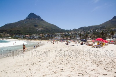 mountain,beach,people,lions head,camps bay