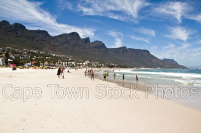 mountain,beach,people,camps bay