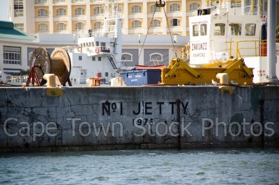 v&a waterfront,jetty,signs