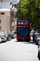 Hop on hop off city sightseeing tour bus [1201084805]