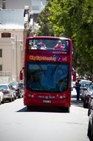 Hop on hop off city sightseeing tour bus [1201084807]