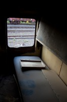 Old train carriage bunk [1201215100]