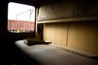 Old train carriage bunk [1201215105]