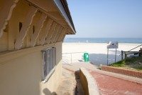 Changing rooms at Camps Bay beach [1201215250]